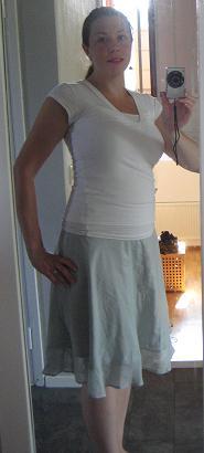 4 veckor efter förlossning, 74 kg