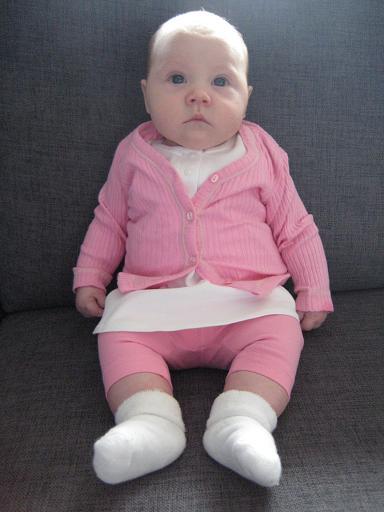 Elise 2 månader