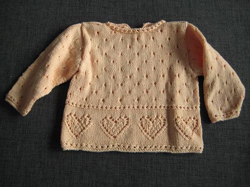 Stickad tröja från Eva