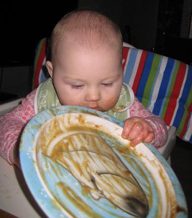 När man får äta själv kan man äta upp allt!