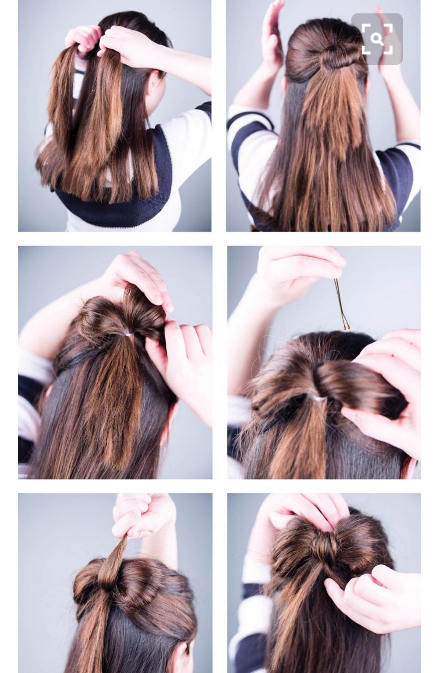 rosetter till håret